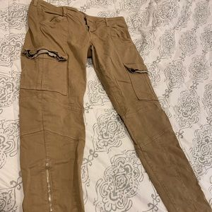 Like-New J. Brand Khaki Zip Cargo Pants, Size 31